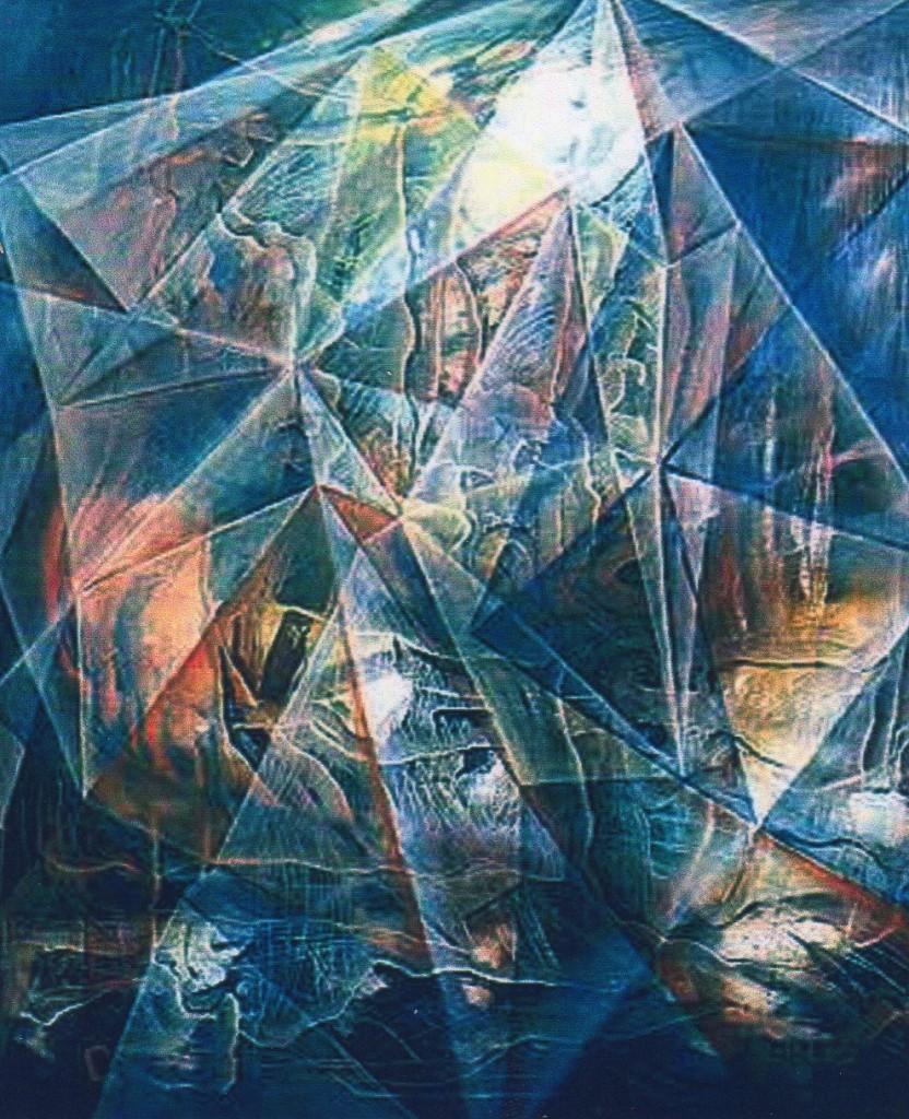 """""""Natur"""", 100 x 120 cm"""